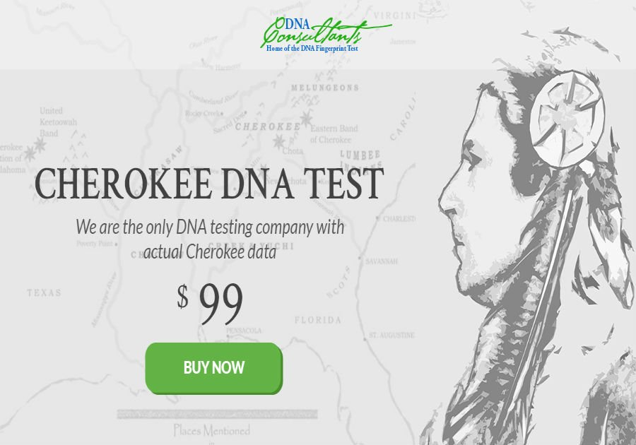 cherokee dna test only  99